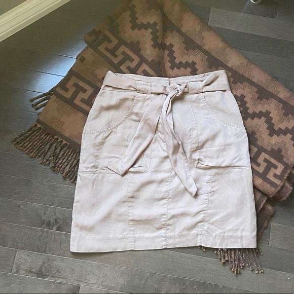 Lightweight khaki Bebe skirt